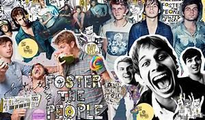 Foster the people - Wallpaper. by JuliGranger on DeviantArt