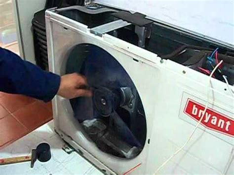 aire acondicionado ventilador unidad exterior