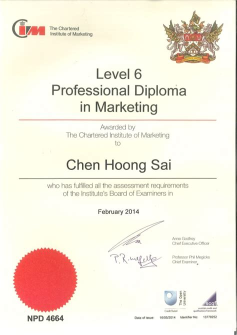 free advertising courses with certificates cim professional diploma in marketing
