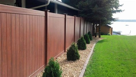 durable fencing durable 6 ft vinyl fence for backyard safety bitdigest design