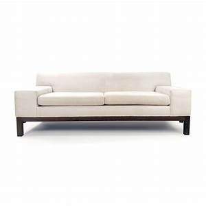 65 off ethan allen ethan allen paisley cushioned sofa With west elm lorimer sectional sofa