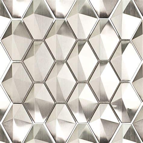 stainless steel tile splashback tile corrie polished stainless metal
