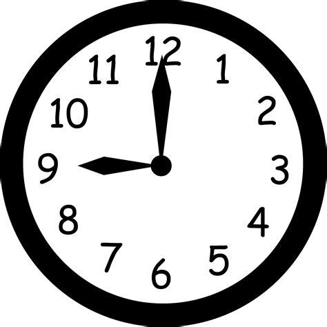6pm phone number wall clock striking nine free clip