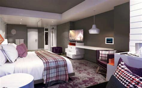d o chambre violet gris papier peint chambre mauve raliss com