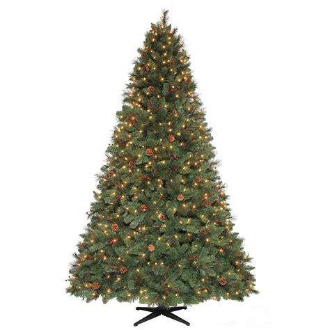 7 5 pine christmas tree always bright with sears