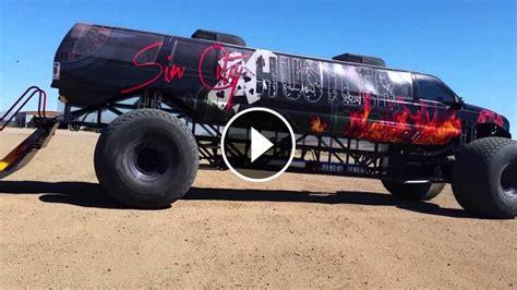 extreme luxury  ford excursion monster truck