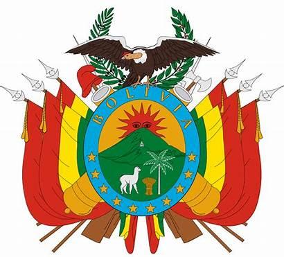 Bolivia Escudo Colombia Arms Coat Symbols Clipart