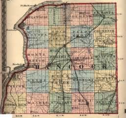 Hancock County Illinois Plat Map
