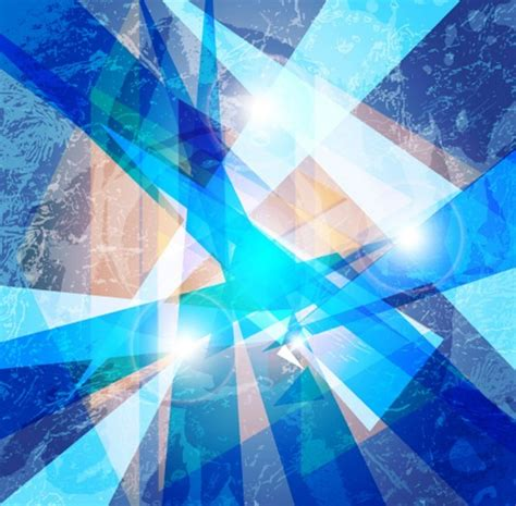 Abstract Blue Shapes Background by Free Blue Abstract Shapes Background Vector 01 Titanui