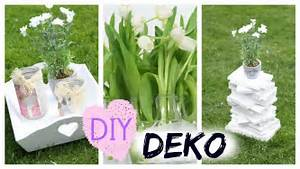 Foto Deko Ideen : easy diy deko ideen in 5 minuten youtube ~ Watch28wear.com Haus und Dekorationen