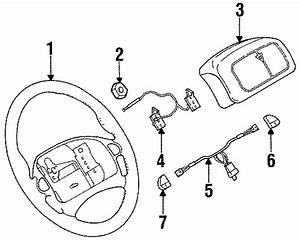Pontiac Firebird Steering Wheel Radio Controls  1994