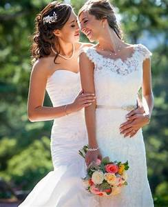 lesbian wedding wedding dresses and womens wedding suits With lesbian wedding dresses