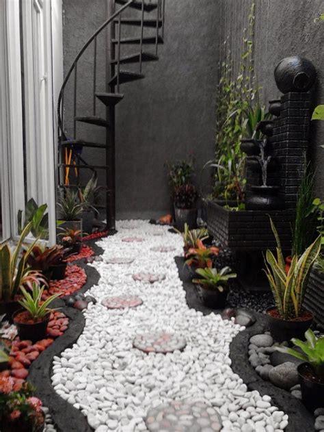 lihat  model taman rumah minimalis kecil cantik rumahaku