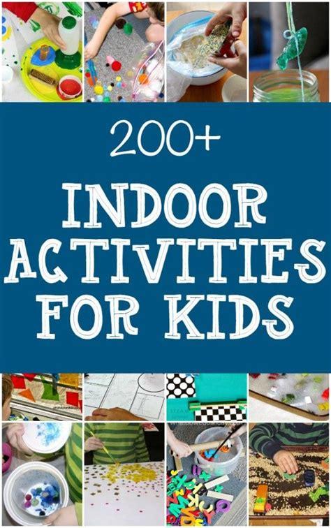 giant list  indoor activities  kids indoor