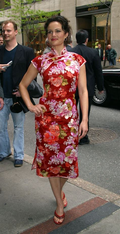 pics  celebrities  chinese dresses oriental