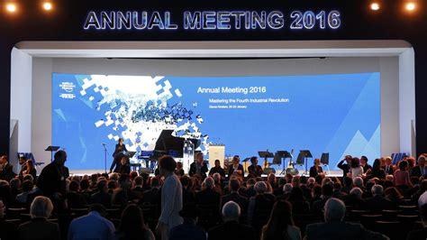 davos waves world economic forum