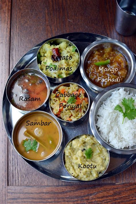 Keep it easy with these simple but delicious recipes. Simple Vegetarian Tamil Nadu Thali Recipe | cookshideout