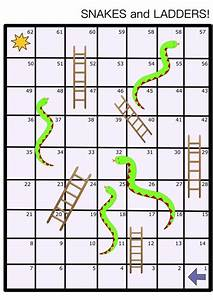 clipart snakes and ladders board game With snakes and ladders printable template