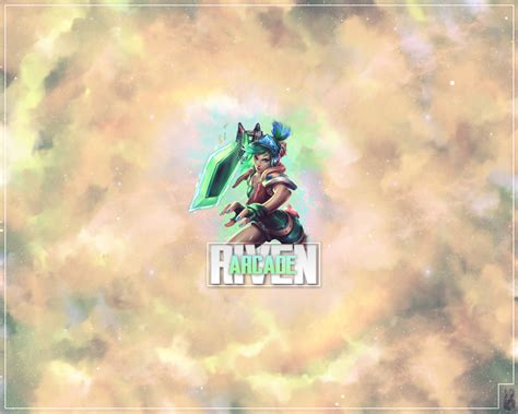 Arcade Riven Wallpaper League Of Legends [13] By