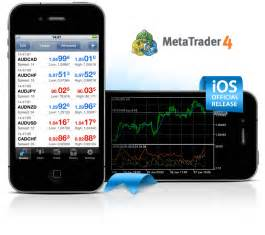 mt4 ios metatrader 4 for iphone has been released news