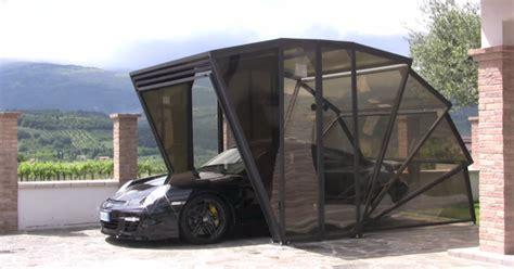Garage Mobile Per Auto by Gazebox Il Garage Pieghevole Per La Tua Auto Con Una