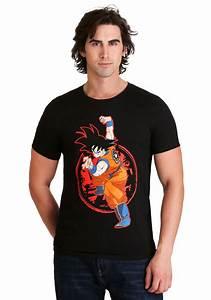 Men 39 S Dragon Ball Z Goku Z Stamp Black T Shirt