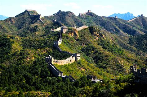 Great Wall Of China The Seven Wonders Of The World