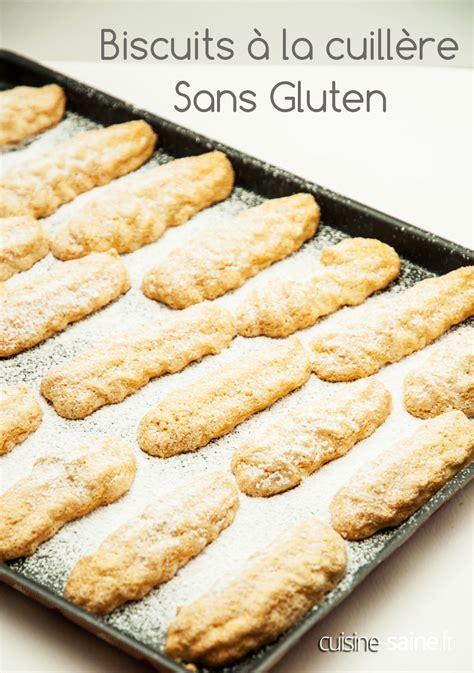 la cuisine sans gluten biscuits à la cuillère sans gluten