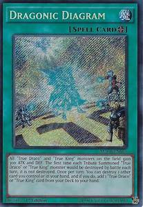 Yugioh Dragonic Diagram Secret Rare Macr