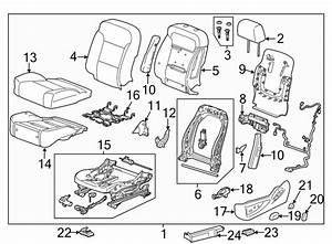2017 Chevrolet Tahoe Frame  Seat  Bucket  Split