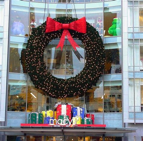 36ft large outdoor christmas wreath led lights 36 diam