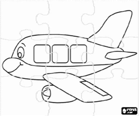disegni  puzzles  transporti da colorare  stampare