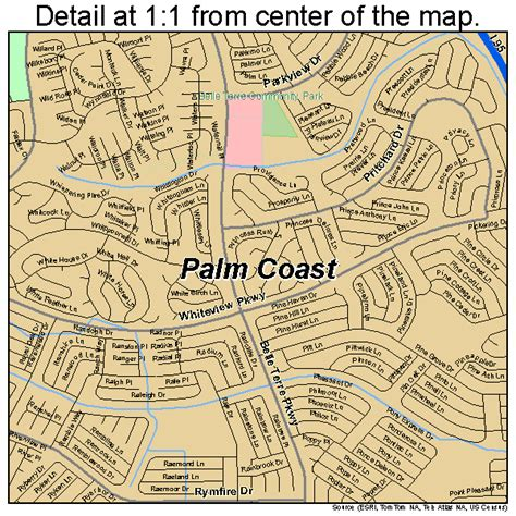 Palm Coast Florida Map.Palm Coast Florida Map