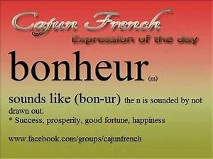 Cajun French | ... New France Quotes