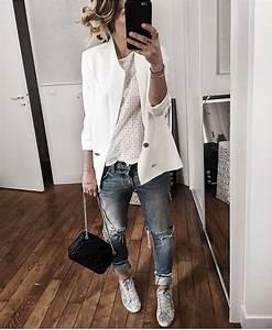 Tenue Printemps Femme : outfit femme printemps ~ Melissatoandfro.com Idées de Décoration