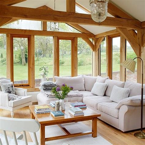 country home interior designs living room with stunning garden views living room