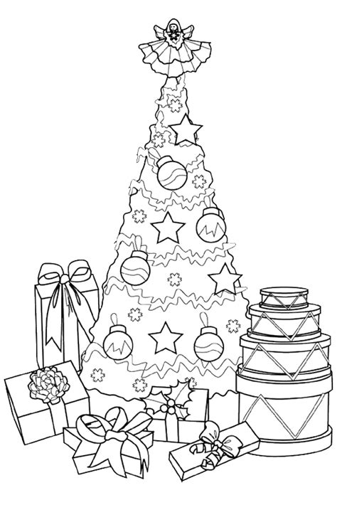 betty page under the christmas tree coloring pages overview with coloring pages