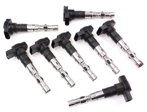 set   genuine ignition coils  vw phaeton touareg      aa