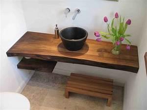 Waschtischplatte Holz Selber Bauen : waschtisch massivholz badezimmer ~ A.2002-acura-tl-radio.info Haus und Dekorationen