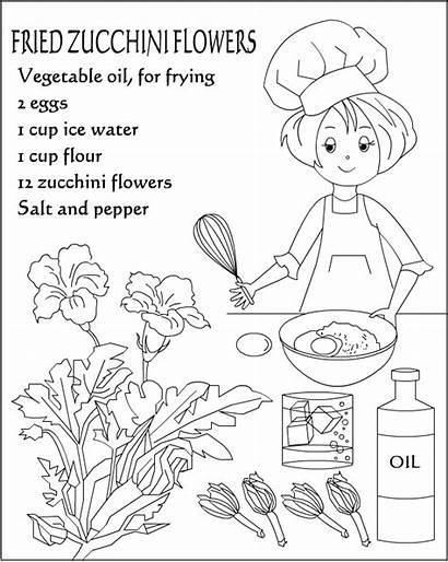 Coloring Recipes Colouring Nicole Added Nice