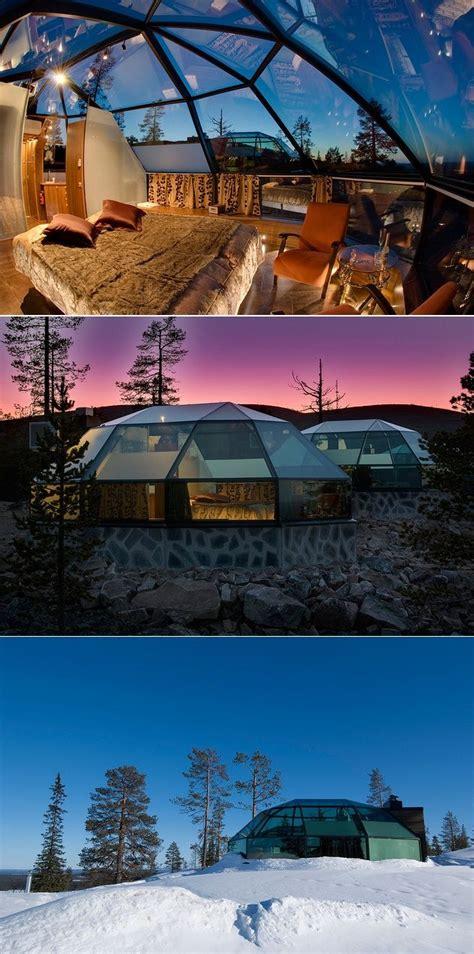 Glass Igloo In Finland 10 Pics Home Design Pinterest