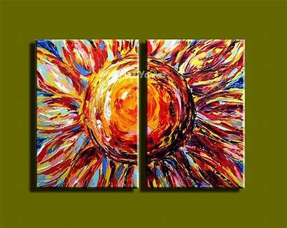 Famous Abstract Modern Acrylic Artist Wall Oil