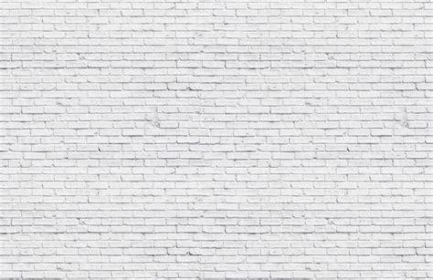 clean white brick wallpaper wall mural muralswallpapercouk