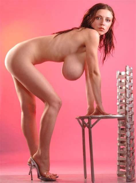 Thin girl big breasts naked - Naked photo