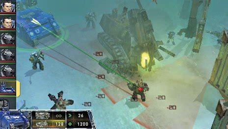 Warhammer 40k Squad Command Psp Demo