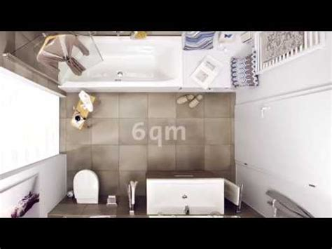 Kleines Bad 6 Qm by 6qm Bad Perfekt Genutzt Badezimmer Auf 6