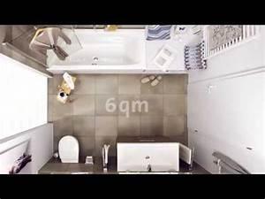 Badezimmer Renovieren Kosten Pro Qm : 6qm bad perfekt genutzt badezimmer auf 6 ~ Michelbontemps.com Haus und Dekorationen