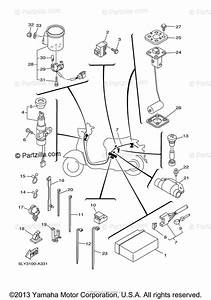 Yamaha Scooter 2005 Oem Parts Diagram For Electrical