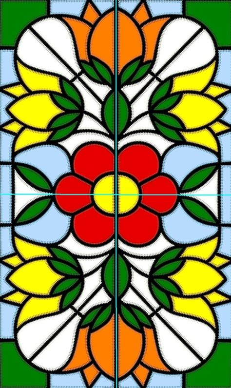 Glass Applique by Advanced Embroidery Designs Stained Glass Applique