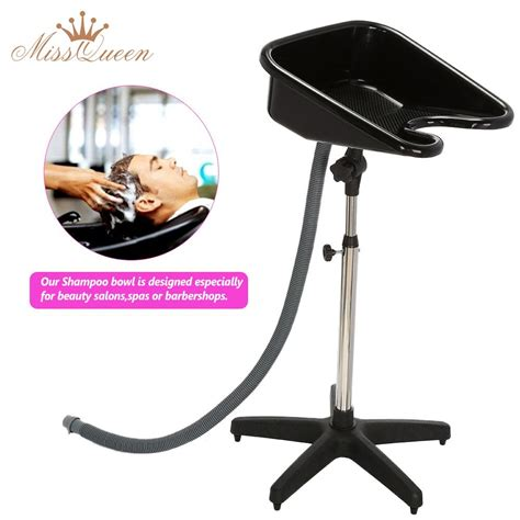 Portable Sink For Salon by Adjustable Hair Salon Shoo Basin With Drain